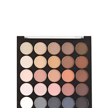 25 Nude Smoke Eyeshadow Palette