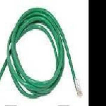 Belkin Components 25ft Cat5e Patch Cable, Utp, Green Pvc Jacket, 24awg, T568b, 50 Micron, Gold Pla