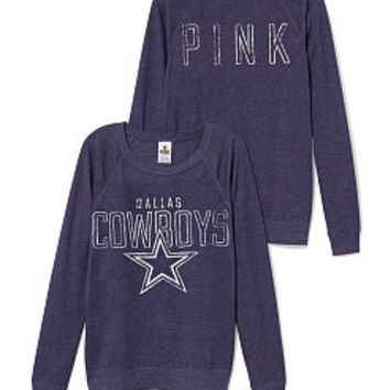 Dallas Cowboys Boyfriend Crew - PINK - Victoria's Secret