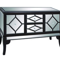 Zhongshan Modern and Unique Wood Mirror Cabinet