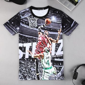 Men 3D Sublimation Lebron T-Shirt