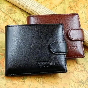 Men's Wallets PU Leather with coin