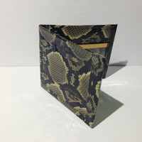 Snake Pattern Duct Tape Wallet by TapeYourLife on Etsy
