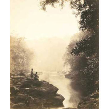 Roger Fenton: Wharfe and Pool, Below the Strid Print