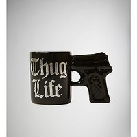 3 oz.Thug Life Black Gun Shot Glass - Spencer's