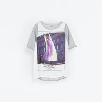 - Printed - T - shirts - Woman | ZARA Norway