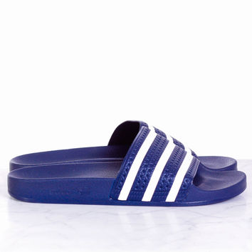 adidas Originals Adilette Slide - Navy