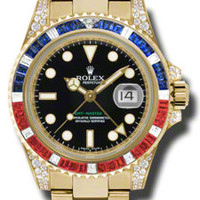 Rolex GMT-MASTER II Mens Automatic Watch 116758BKSARU