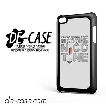Panic At The Disco Quotes DEAL-8415 Apple Phonecase Cover For Ipod Touch 4