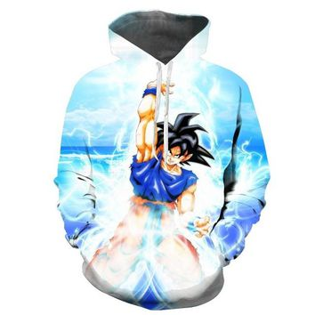 Black 3D Hoodie women Harajuku animal animation printed long sleeve shoulder dress sportswear women Hoodie
