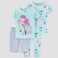 Baby Girls' Pajama Set - Just One You™ Made by Carter's® Turquoise