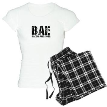 BAE | BACON AND EGGS Pajamas | Funny Pajama Sets. Perfect for Breakfast