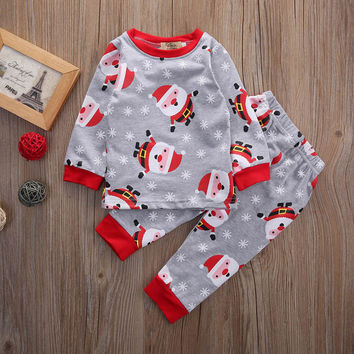 Autumn Winter Newborn Baby Girls Clothing Sets Cotton Baby Boy Clothes Fashion Pajamas Casual Full Pullover Set for babies