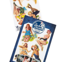 Pin-Up Your Pad Sticker Set