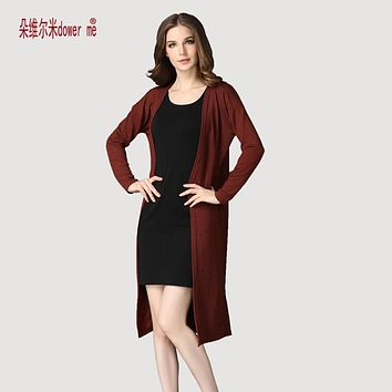 dower me drop shipping Cardigan Women Sweater casual Crochet Poncho Plus Size Coat Women long Sweaters vestidos Cardigans