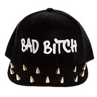 """Bad B*tch"" Spiked Out Snapback"