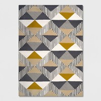 Austin Tile Outdoor Rug Gray/Yellow - Project 62™