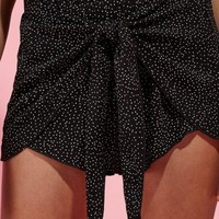 DCCKYB5 Kendall & Kylie Tie Front Shorts