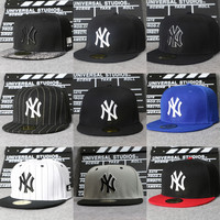 Fashion Young Men And Women NY Adjustable Hat Baseball Caps