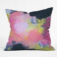 Natalie Baca Stolen Dream Throw Pillow