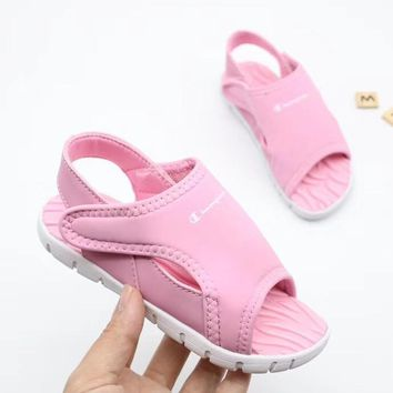 Champion Girls Boys shoes Children boots Baby Sandle Toddler Kids Child Fashion Casual Sneakers Sport Shoes
