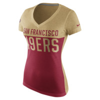 Nike Home and Away V-Neck (NFL 49ers) Women's T-Shirt