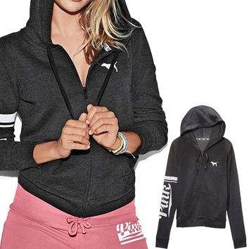 Victoria's Secret Love Pink Print Women Hoodies Sweatshirt Tracksuit sweater