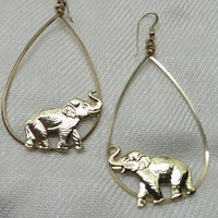 Robyn Rhodes La   Luck From The Elephant Drop Earrings (Small/Indie Brands)