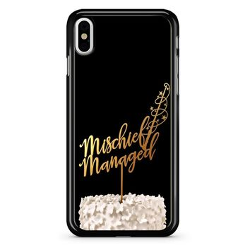 Mischief Managed Harry Potter iPhone X Case
