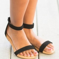 The Jessica Sandals in Black | Monday Dress