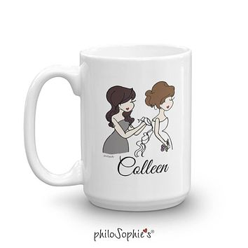 Personalized Bridal Party Ceramic Mug