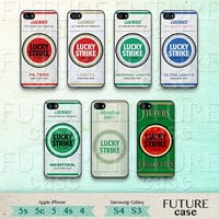 Cigarettes Box iPhone 4 Case Lucky Strike iphone Case iphone 4s case iphone 4g case Hard or Soft Case-CB17