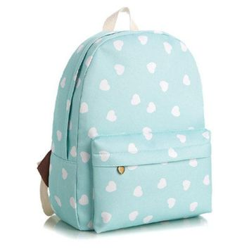 ca DCCKTM4 Back To School On Sale Comfort Hot Deal Stylish Casual College Korean Lovely Floral Animal Stripes Canvas Backpack [7975377287]