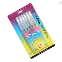 JetPens.com - Sakura Gelly Roll Stardust Gel Pen - 1.0 mm - 6 Color Set - Galaxy