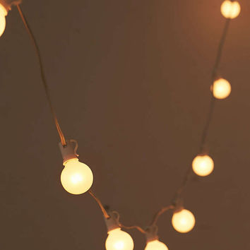 Frosted Globe String Lights - Urban Outfitters