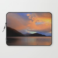 Sunset Laptop Sleeve by Haroulita | Society6