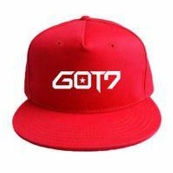 Men&Women GOT 7 Jeep Hat Baseball Golf Star Sport Casual Sun Cap Adjustable