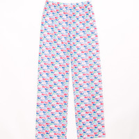 Girls Pattern Whale Lazy Pants