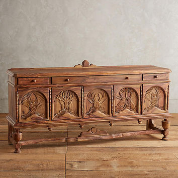 Handcarved Menagerie Buffet