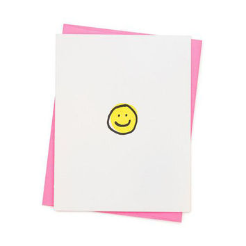 Smiley Face Card