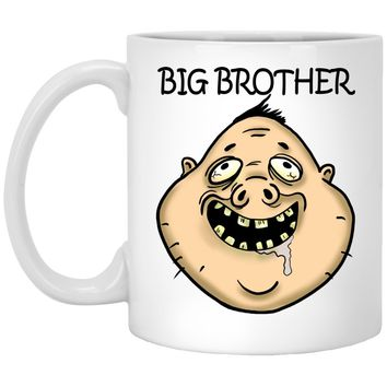 Big Brother funny Gift White Mugs