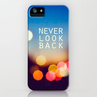 never look back iPhone Case by Jenny Long | Society6