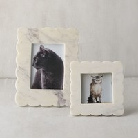 Scalloped Marble Picture Frame - 3x3 | Urban Outfitters
