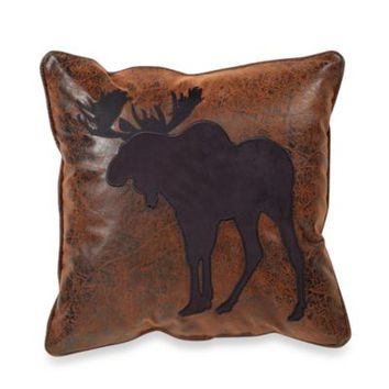 Croscill® Plateau 16-Inch Square Moose Toss Pillow