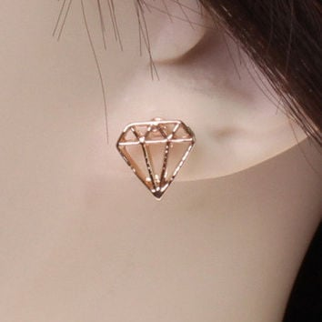 Korean Earring Fashion Luxury Hollow Out Earrings [6049367489]