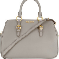 Miu Miu | Textured-leather tote | NET-A-PORTER.COM