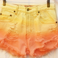 The Sunrise Shorts by Shopwunderlust on Etsy