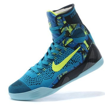 """Kobe 9 Elite High-Top """"Perspective"""" Neon Turquoise/Volt For Sale"""