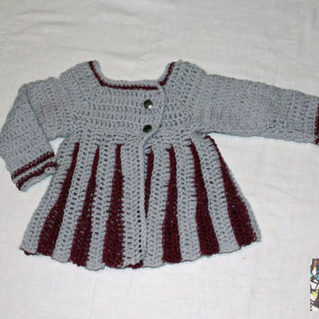 Eloise, baby, sweater, moogly, made in italy, handmade, 3, 6, 12, 18, 24, 36 months, acrylic