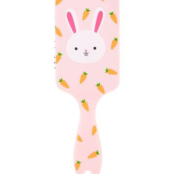 Bunny Graphic Hair Brush
